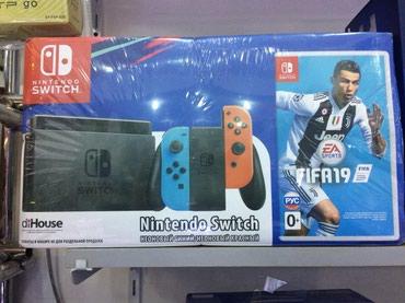 Bakı şəhərində Nintendo Switch satılır tam bağlı upokovkada orginal. Fifa 19