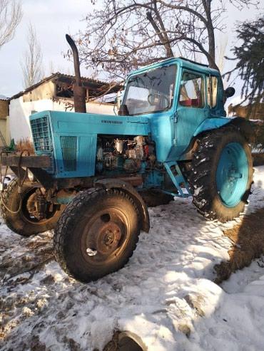 ТракторМТЗ-82имеет тяговый класс 1,4 и в Кемин