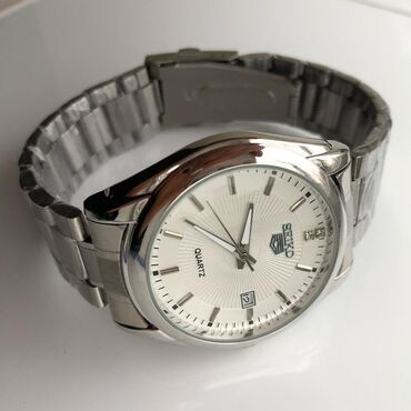 Белые Мужские Наручные часы Seiko