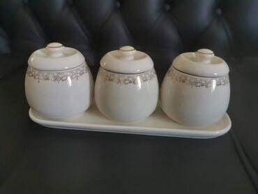 Keramicki set za secer, so, kafu 1599 din