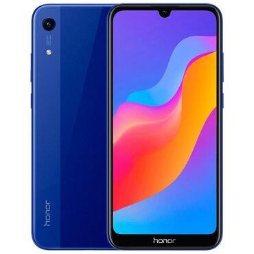 Электроника - Чаек: Honor Honor 8A Pro | 32 ГБ | Синий Б/у | Сенсорный, Отпечаток пальца, Две SIM карты