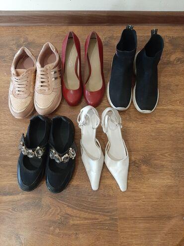 super stilnaja в Кыргызстан: Продаю обувь 37 размер.В хорошем состоянии. Белые туфли бесплатно