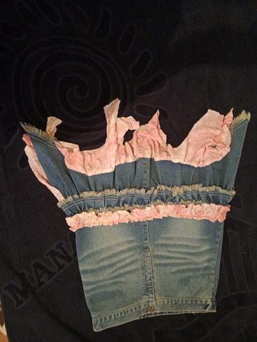 Корейская джинсовая юбка, состояние в Бишкек