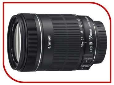 Объектив Canon EF-S 18-135 mm f/3.5-5.6 IS 170$ in Бишкек