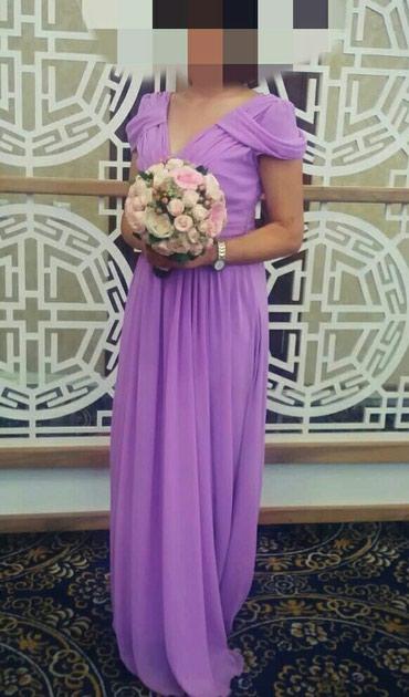 шью на заказ платье в Кыргызстан: Шикарное, нежное, шифоновое платье, надевалось 1 раз. Состояние