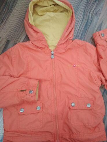 Детский мир - Кок-Ой: Обменом 500!Двухсторонняя куртка ~4-5л