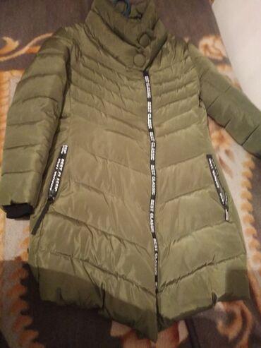Продаю зимнюю женскую куртку размер 46 цена 500сом