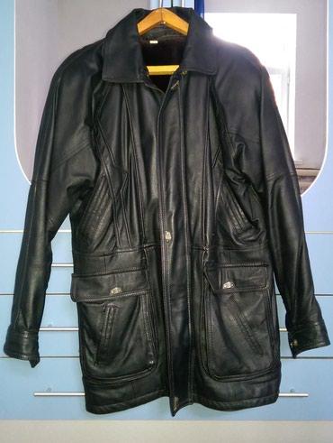 Кожаная куртка утепленная. Продаю в Бишкек