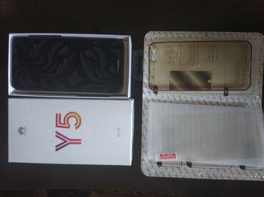 Huawei y5 δώρο θήκη και τζαμάκι αχτύπητο και λίγο χρησιμοποιημένο σαν
