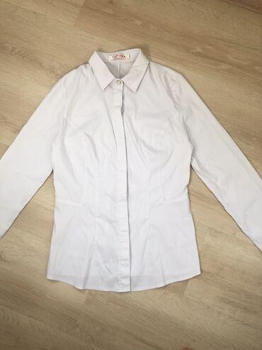 блузки для школы в Кыргызстан: Школьная рубашка/блузка на девочку 5-6 класс (примерно 11-13 лет) Мате