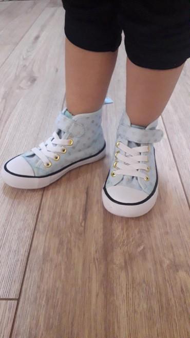 замшевые туфли на каблуках в Кыргызстан: Кеды от Н&М. как новые,размер на фото