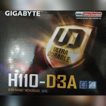 Продам матплаты Gigabyte H110-D3A новые. 3 шт. Проверка 7 дней. 6000