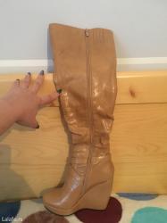 Kozne cizme,nove,br 38 kupljene u jafa butiku - Krusevac
