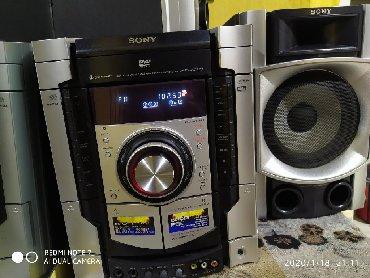 Сони телефон - Кыргызстан: Продаю музыкальный центр Сони работает отлично только диски не