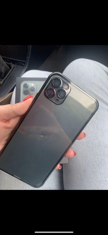 iphone 11 pro цена ош in Кыргызстан   APPLE IPHONE: IPhone 11 Pro Max   256 ГБ Б/У   Отпечаток пальца, Беспроводная зарядка, Face ID