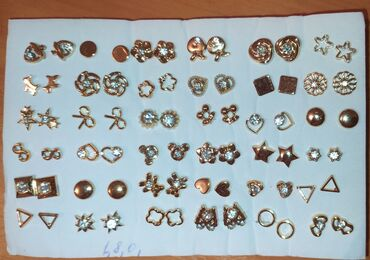 g shock ga 100 в Кыргызстан: 3 пары 100 сом Сережки