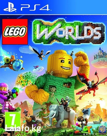 Lego worlds ps4 в Бишкек