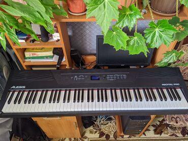 Alesis Recital Pro  Клавиатура: 88 полноразмерных динамических клавиш;
