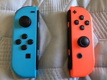 Nintendo Switch - Azərbaycan: Nintendo Switch üçün joy-con 2 Ay işlənib Heç bir problemi yoxdur Hər