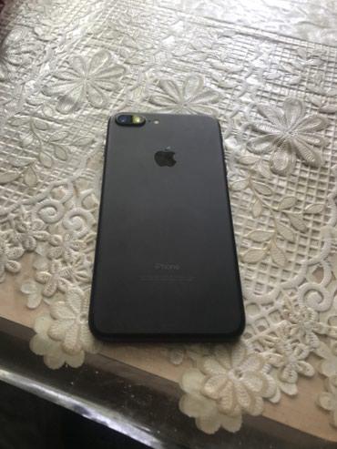 Iphone 7+ /32 gb черный мат комплект коробка доки цена окончательная  в Бишкек