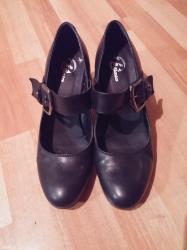 Prelepe, dva puta obuvene cipelice od prirodne koŽe, stanje savrŠeno - Kragujevac