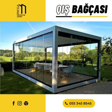 Metal məhsulları - Azərbaycan: Standart qış bağçasının döşəməsi metal konstruksiya və kompozit taxta