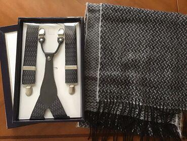 одежда для беременных в Кыргызстан: Набор для мужчины все новое шарф двусторонний размер 30х150