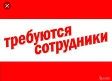 Нужен помощник сфере торговле! График с 10:00 до 17:00 в Бишкек