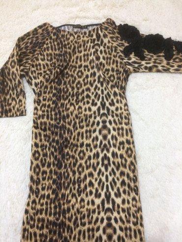 турецкое платье шифон в Кыргызстан: Платья (турция) качество отличное, 1-е леопардовое, размер 38 есть
