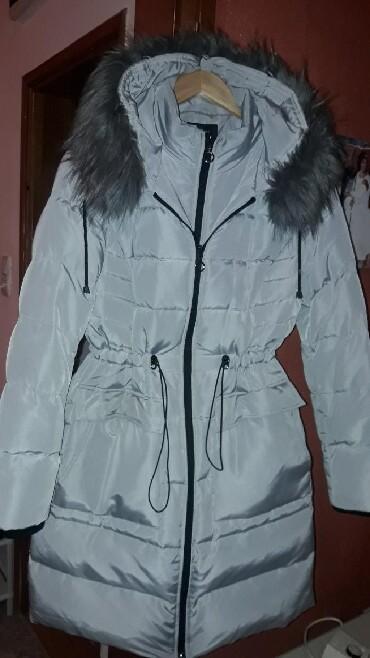 Jakna-luciano-placena-ustrucena-obukla-sa - Srbija: Nova perjana jakna, placena 120chf xl prelepa, za ozbiljne kupce