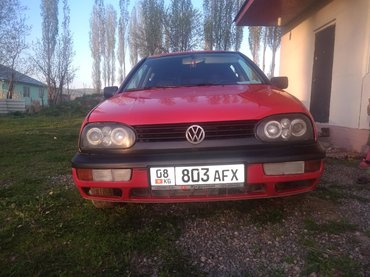 volkswagen-golf-бу в Кыргызстан: Volkswagen Golf 1.8 л. 1992 | 3256 км