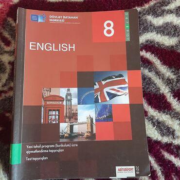 - Azərbaycan: 8 sinif ingilis dili test