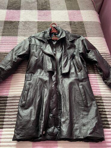 куртки зимние мужские бишкек в Кыргызстан: Куртка б/у 48 р. Халат теплый. Курта молодежная L красная курта 48