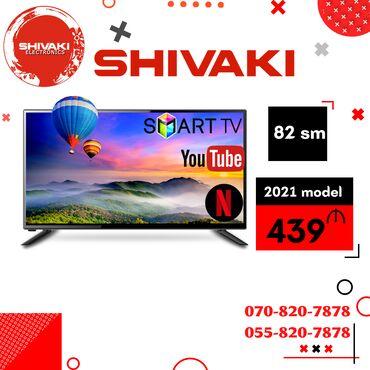 "Televizorlar - 32"" - Bakı: SHIVAKI ELECTRONICS SHIVAKI 82 ekran smart ANDROİD 9 - (2 pultlu) -"