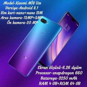 Gəncə şəhərində Xiaomi Mİ8 Lite