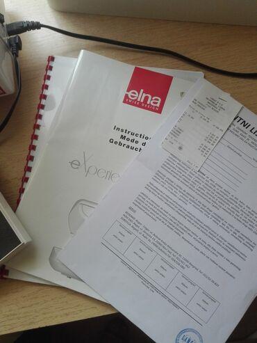 Masine za sivenje - Srbija: Na prodaju masina za sivenje Elna 540s u odlicnom stanju,jos tri