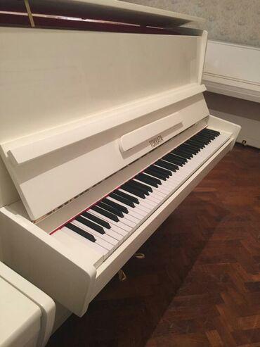 Piano və fortepianolar - Azərbaycan: Pianino Rusya stehsalı. Əla vəziyyədədi. Cadırılma və köklənmə