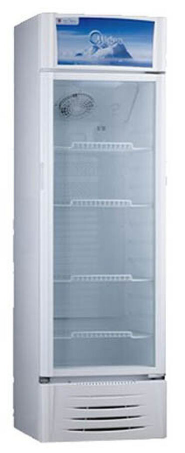 | Новый Холодильник-витрина | Белый холодильник Midea