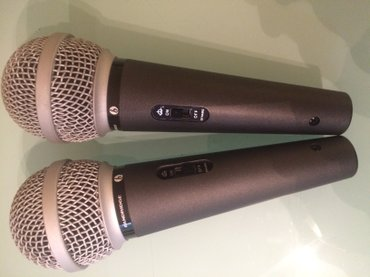 Aro-24-2-5-mt - Srbija: Mikrofoni 2 kom bezicni bandridge, uvoz svajcarska