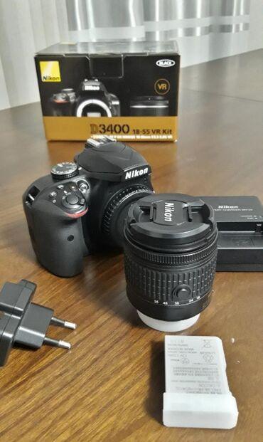 фотоаппарат 360 в Кыргызстан: Срочно срочно продаю новый фотоаппарат Никон Д3400 очень хороший в