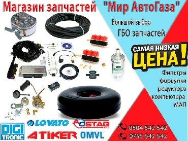 Запчасти для газонокосилок - Кыргызстан: Автогаз гбо запчасти фильтра, редукторы, форсунки, мапы в нашем магази