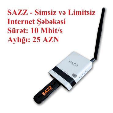 - Azərbaycan: SAZZ Internet