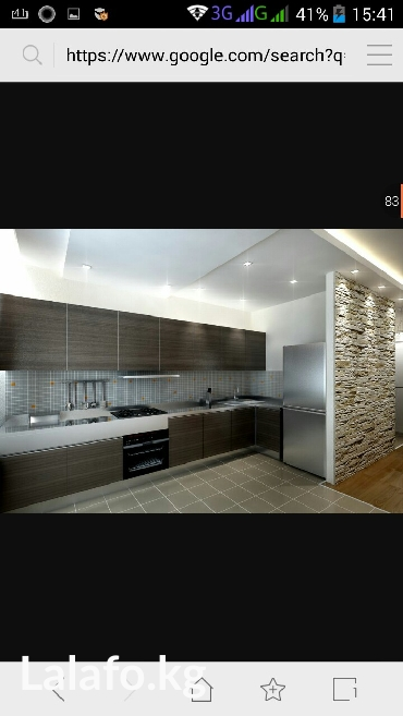 Кухонные стенки .Мебель на заказ любой сложности корпусных мебелей. в Бишкек
