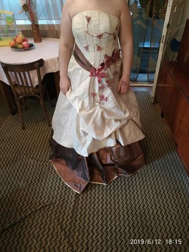 Продаю бальное платье! одевала 1 раз. В подарок 2 подъюбника. Торг