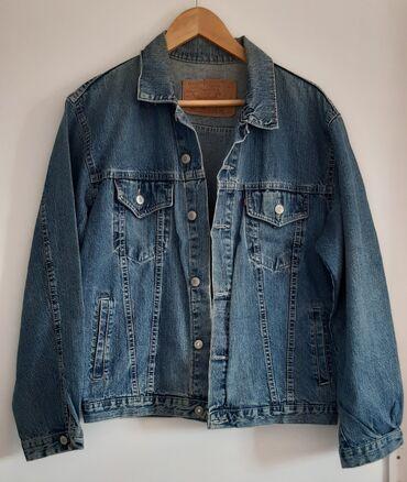 Moderna zenska teksas jakna,velicina L