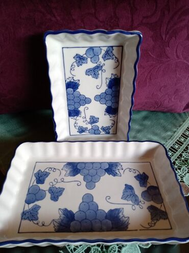 Porcelan - Srbija: Porcelanski tanjiri