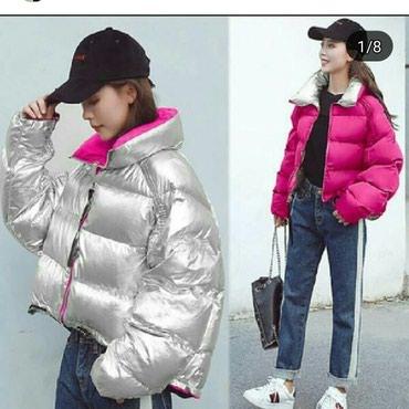 Куртка осень-зима двухсторонняя 2800сом размер M в Ош