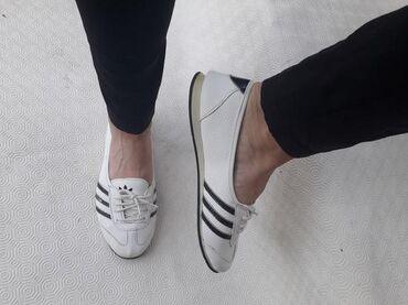 Ženska obuća | Valjevo: Adidas original - broj 39 - kozne patike - broj 39 - gaziste 25cm
