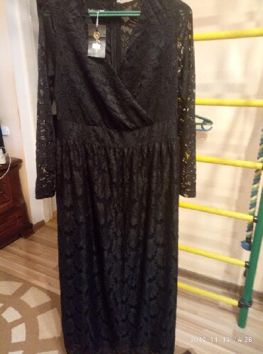 шикарное вечерние платье в Кыргызстан: Вечернее платьеновое шикарное р. 50-52,заказ с Украины не