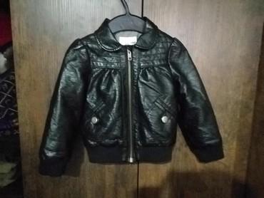 H&M kožna jakna za devojčice. Vel od 1,5-2 godine. Predobra - Pancevo